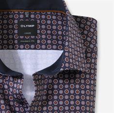 OLYMP business overhemd Modern Fit 129464 in het Beige