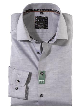 OLYMP business overhemd Modern Fit 130684 in het Grijs