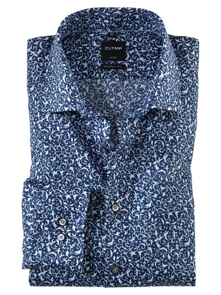 OLYMP business overhemd Modern Fit 131054 in het Marine