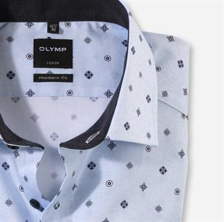 OLYMP business overhemd Modern Fit 131684 in het Blauw