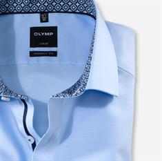 OLYMP business overhemd Modern Fit 132064 in het Hemels Blauw