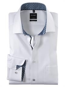 OLYMP business overhemd Modern Fit 132064 in het Wit