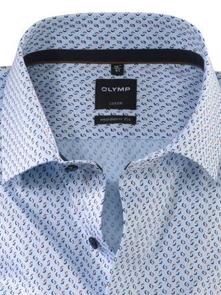 OLYMP business overhemd Modern Fit 137674 in het Bruin