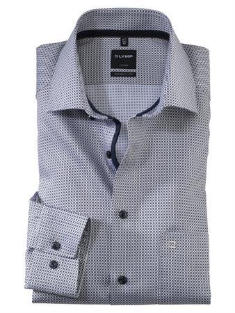 OLYMP business overhemd Modern Fit 138174 in het Bruin