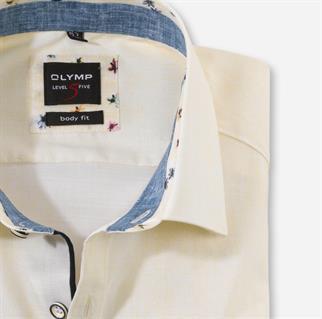 OLYMP business overhemd Modern Fit 201774 in het Geel