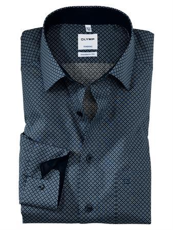 OLYMP business overhemd Modern Fit 861464 in het Blauw