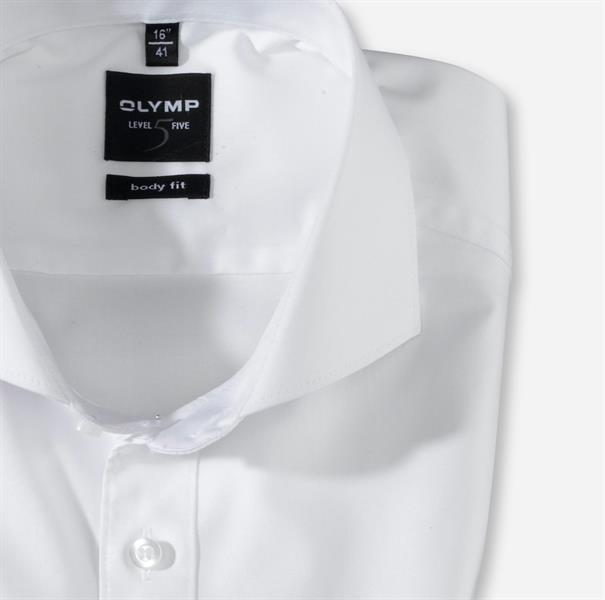 OLYMP business overhemd Slim Fit 200764 in het Wit