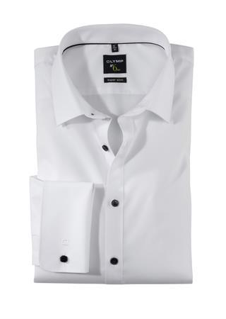 OLYMP business overhemd Super Slim Fit 043865 in het Wit