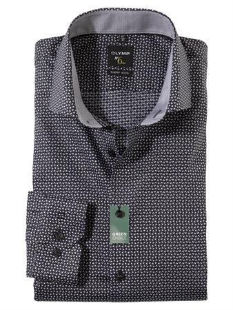 OLYMP business overhemd Super Slim Fit 256684 in het Zwart