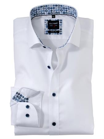 OLYMP extra lange mouw overhemd 207479 in het Wit