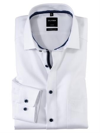 OLYMP extra lange mouw overhemd Modern Fit 126279 in het Wit