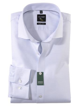 OLYMP extra lange mouw overhemd Super Slim Fit 258889 in het Wit