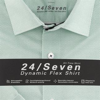 OLYMP jersey overhemd Modern Fit 125272 in het Groen