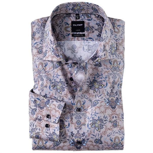 OLYMP overhemd 120434 in het Bruin