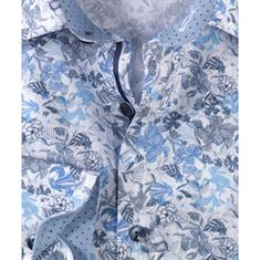 Olymp overhemd 200314 in het Licht Blauw