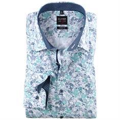 Olymp overhemd 200314 in het Mint Groen