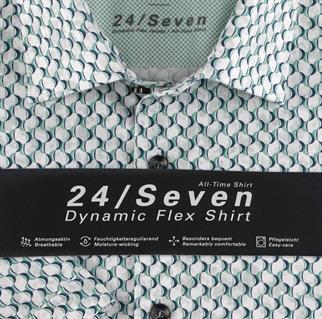 OLYMP overhemd 201172 in het Groen