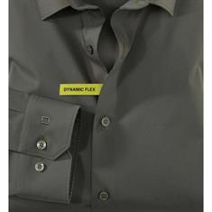 OLYMP overhemd 250424 in het Olijf groen