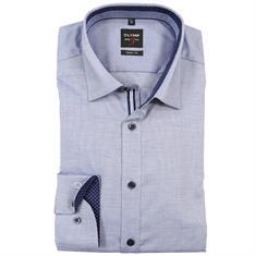 OLYMP overhemd Body fit 052964 in het Marine