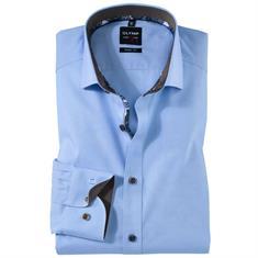 OLYMP overhemd Body fit 200234 in het Blauw