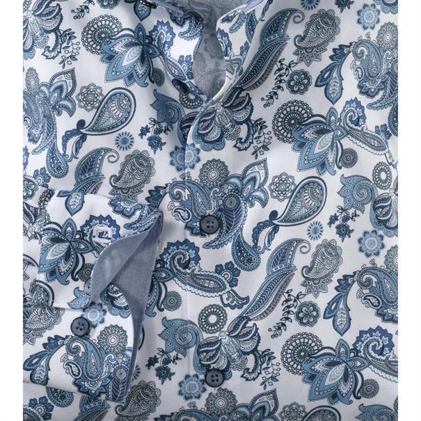 OLYMP overhemd Body fit 201134 in het Blauw