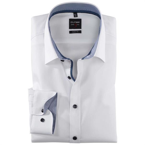 OLYMP overhemd Body fit 201324 in het Wit
