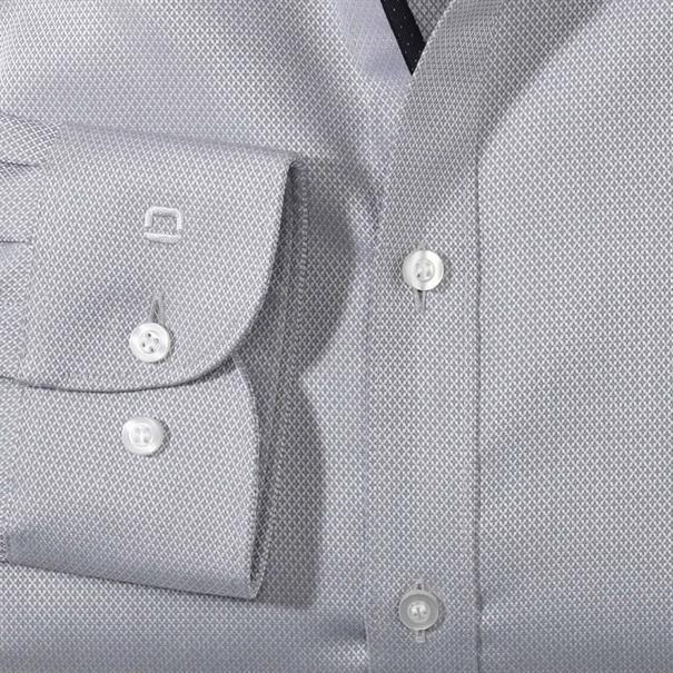 OLYMP overhemd Body fit 201484 in het Zilver