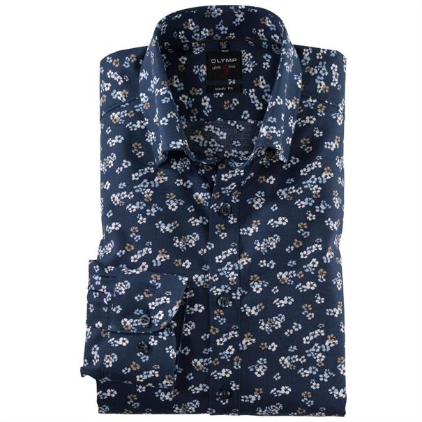 OLYMP overhemd Body fit 201934 in het Beige