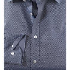 OLYMP overhemd Body fit 202124 in het Marine