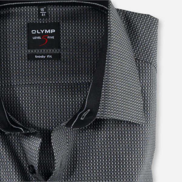 OLYMP overhemd Body fit 202844 in het Zwart
