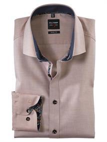 OLYMP overhemd Body fit 202864 in het Beige