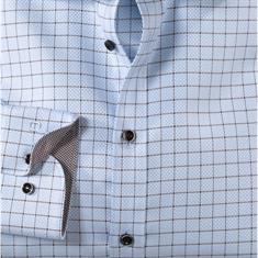 OLYMP overhemd Body fit 202924 in het Bruin