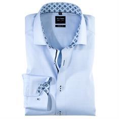 OLYMP overhemd Body fit 203334 in het Blauw