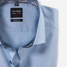 OLYMP overhemd Body fit 204044 in het Blauw