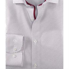 OLYMP overhemd Body fit 204124 in het Donker Rood