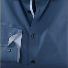 OLYMP overhemd Body fit 204834 in het Blauw