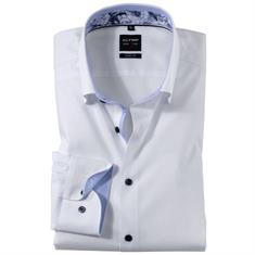 OLYMP overhemd Body fit 204834 in het Wit