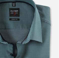 OLYMP overhemd Body fit 205464 in het Groen