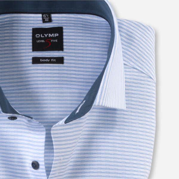 OLYMP overhemd Body fit 205844 in het Blauw