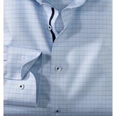 OLYMP overhemd Body fit 206634 in het Blauw