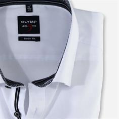 OLYMP overhemd Body fit 208244 in het Marine