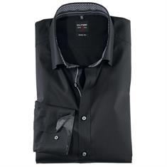 OLYMP overhemd Body fit 208244 in het Zwart
