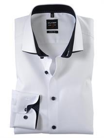 OLYMP overhemd Body fit 213064 in het Wit