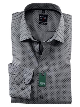 OLYMP overhemd Body fit 213489 in het Zwart