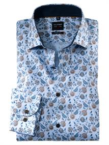 OLYMP overhemd Body fit 213864 in het Beige
