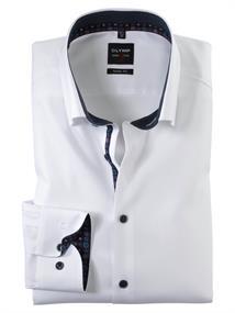 OLYMP overhemd Body fit 214264 in het Wit
