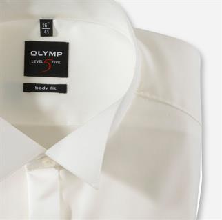 OLYMP overhemd Body fit 307765 in het Ecru