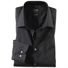 OLYMP overhemd Body fit 609064 in het Zwart