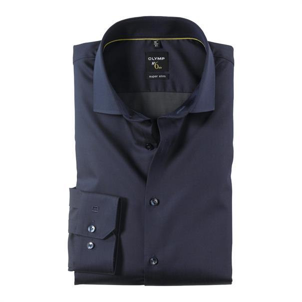 OLYMP overhemd Extra slim fit 251244 in het Blauw