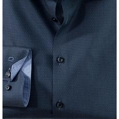 OLYMP overhemd Extra slim fit 254234 in het Marine